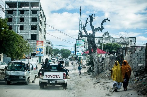 Mogadishu's Bakaara Market or what's left of it.