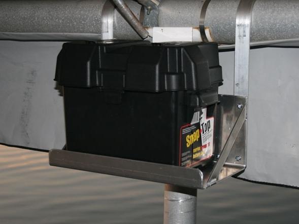 boat battery wiring diagrams kitchen ring main diagram watering systems, marine dock products, solar lights: 20 watt 24v lift ...