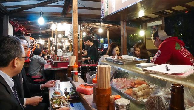 Fukuoka Travel Food Stalls Yatai