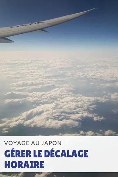 Comment gérer le décalage horaire - voyage au Japon
