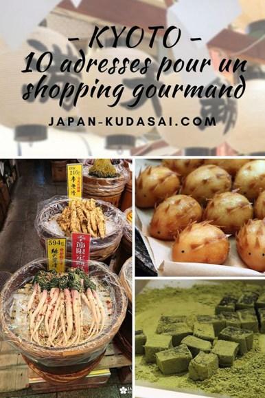 Découvrir la gastronomie japonaise au Nishiki market - voyage à Kyoto à travers les sens