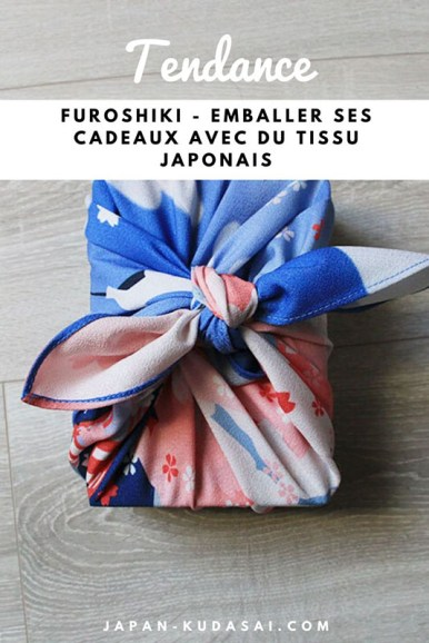 Emballer ses cadeaux dans un furoshiki, la tendance zéro déchets