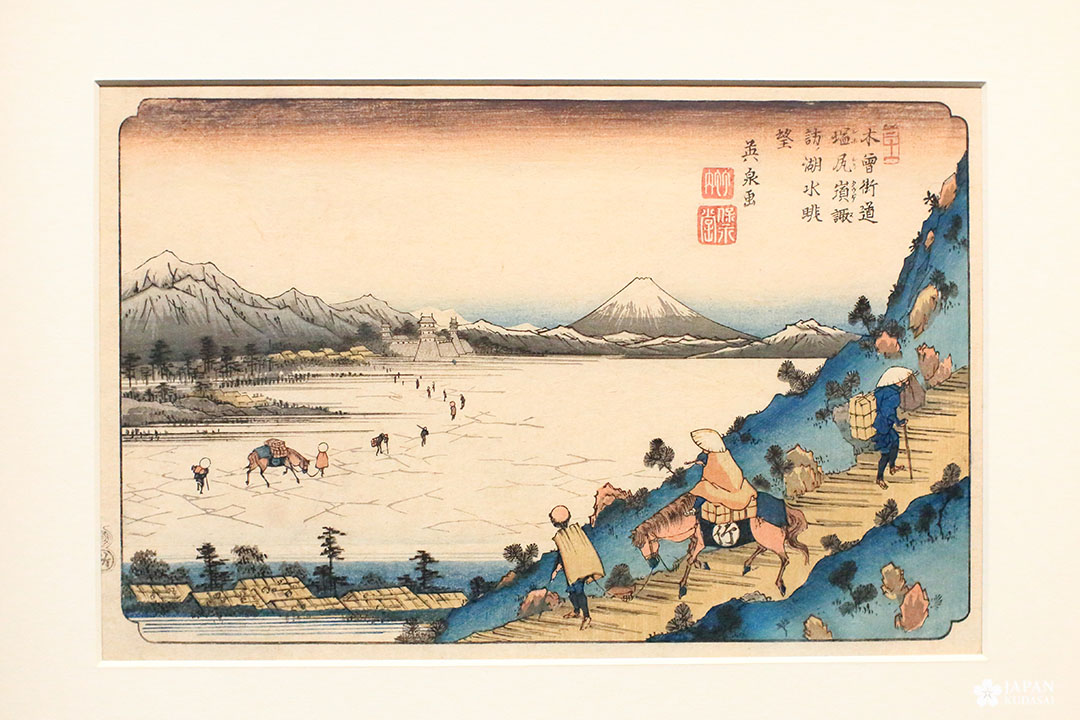 estampe kisokaido hiroshige musée cernuschi