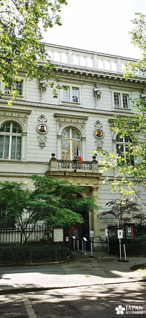 façade hotel particulier cernuschi paris