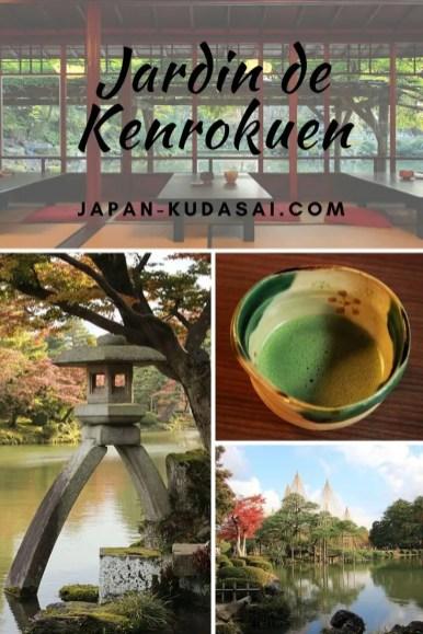 Kenrokuen - un jardin immanquable à Kanazawa