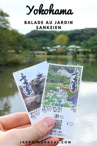 Le jardin Sankei-en de Yokohama