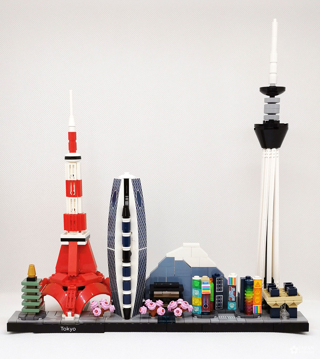 Skyline tokyo lego architecture figurine lego shop official
