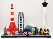 Visiter Tokyo avec Lego architecture