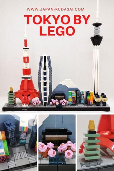 Nouvelle gamme Lego architecture Tokyo - visite de la capitale nippone en miniature