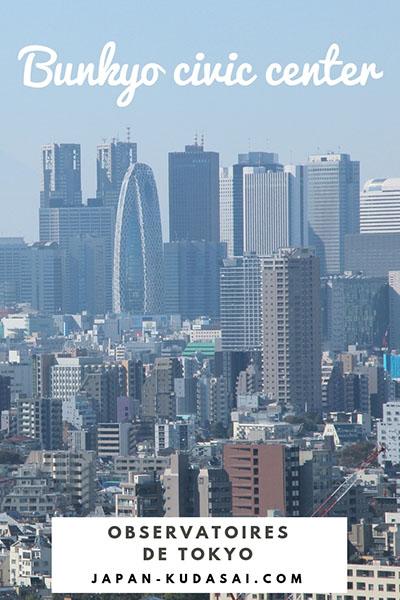 Observatoires de Tokyo - Bunkyo civic center
