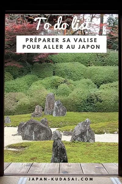 Quoi mettre dans sa valise pour un voyage au Japon (1)