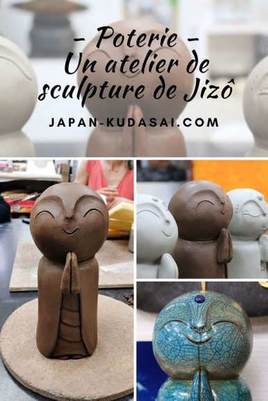 Sculpter un jizo - poterie Dijon