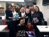 Un atelier furoshiki pour préparer Noël!