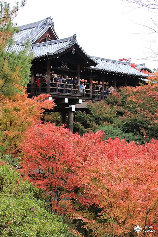 pont temple tofokuji automne