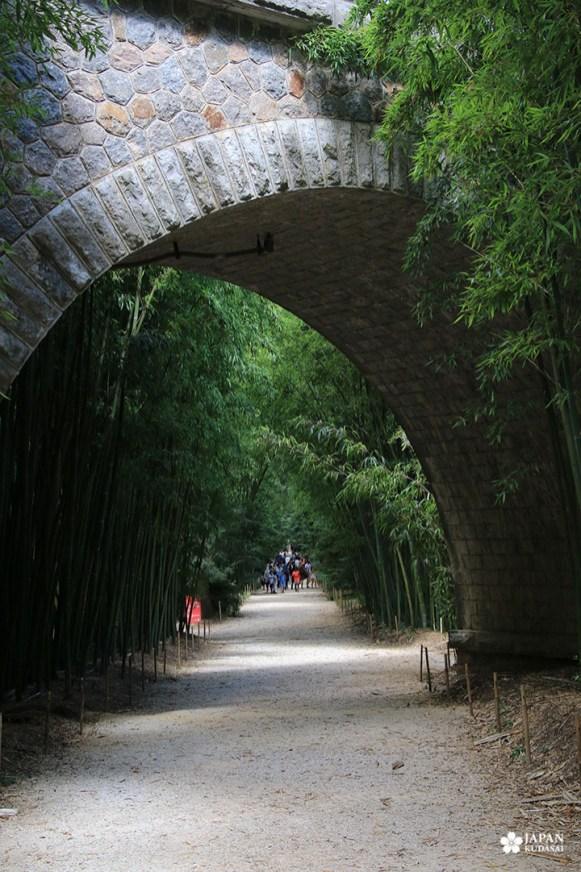 entrée bambouseraie en cévennes anduze