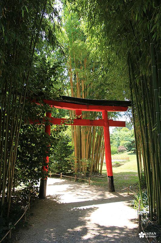 torii bambouseraie en cévennes anduze