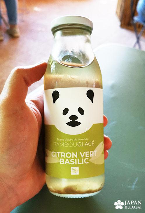 boisson bambou glacé basilic citron vert