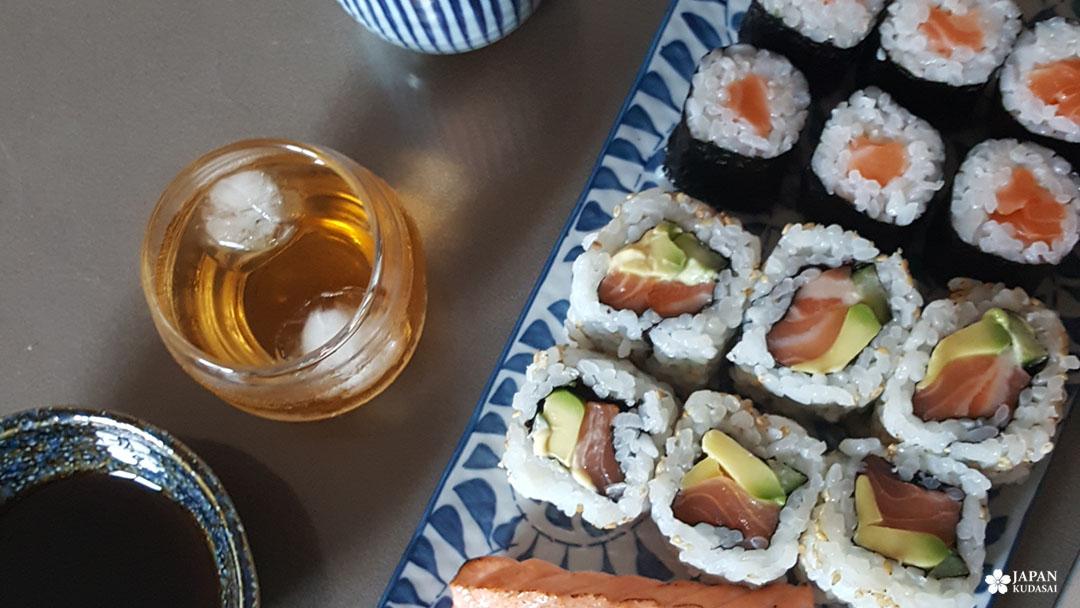 plateau de sushis umeshu