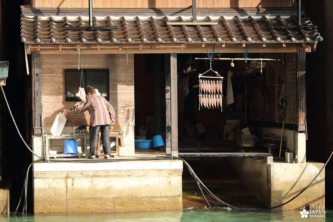pêcheur mer du japon