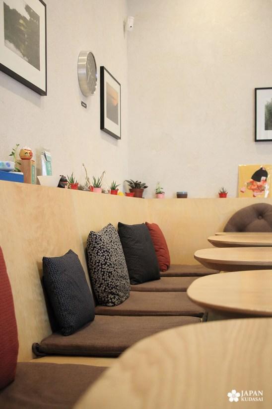 intérieur salle hana bento bourgogne