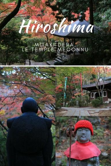 Temple Mitaki dera à Hiroshima : une balade mystique en pleine nature, oubliée des touristes.