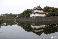 Les jardins du palais impérial de Tokyo