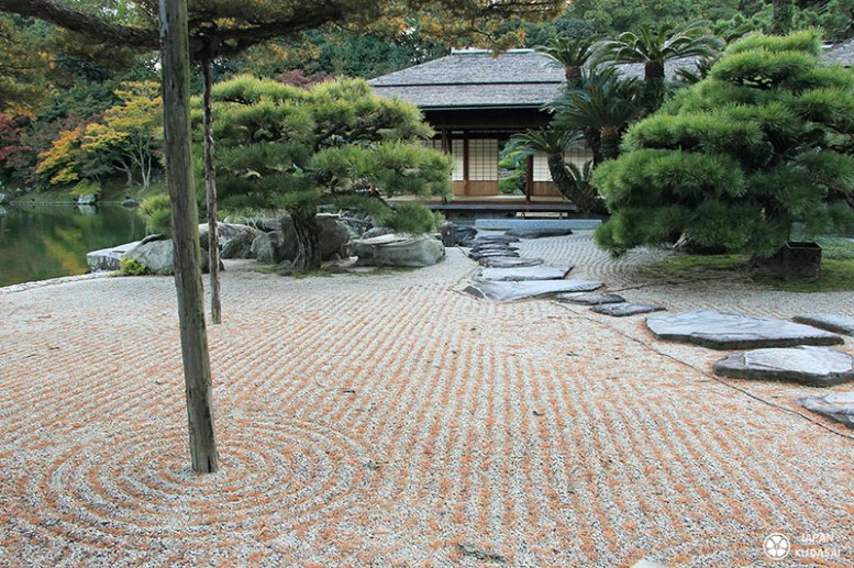 Jardin sec de l'ère Edo