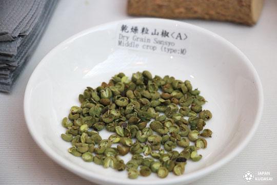 Poivre vert Sancho de Wakayama, aux notes cironnées, acidulées, d'agrumes et de citronelle