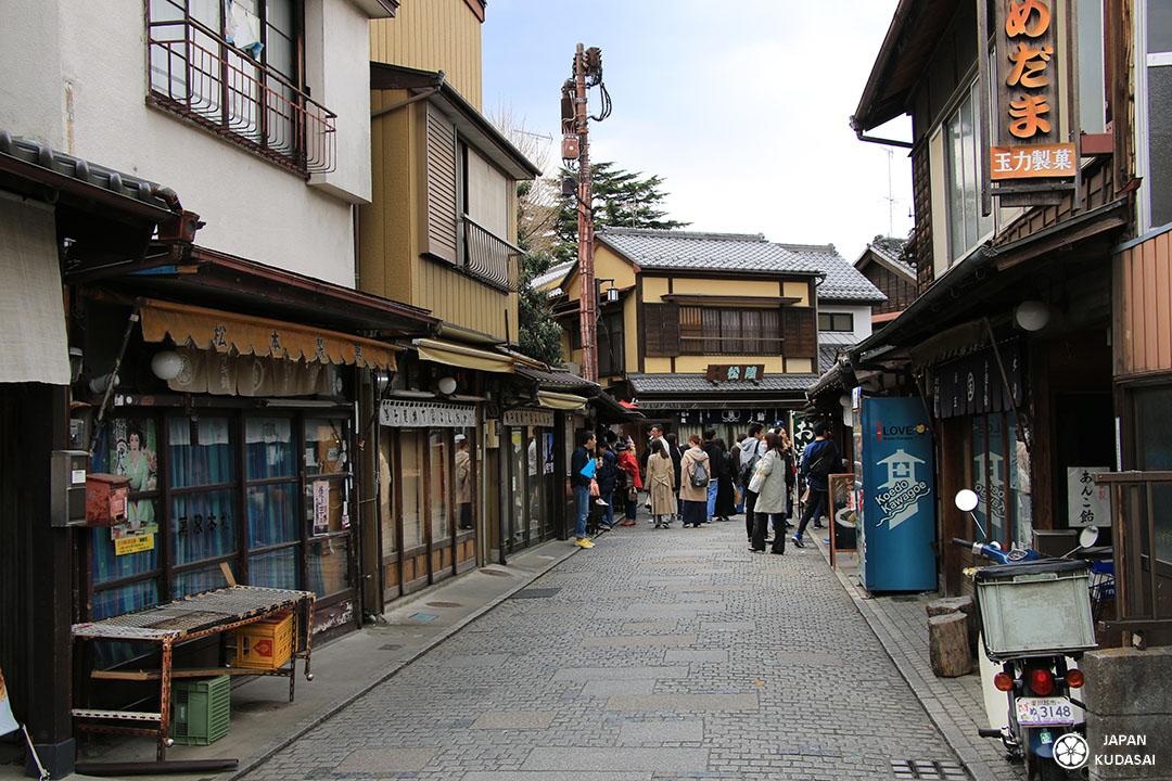 Kawagoe candy street, la ruelle des bonbons