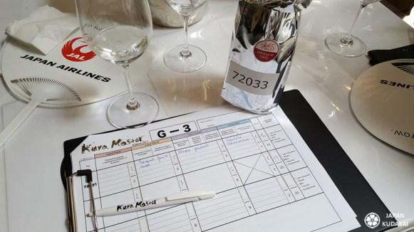 Kura master, premier concours de dégustation français de saké organisé à Paris.