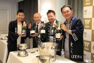 Le saké pétillant, nouvelle tendance