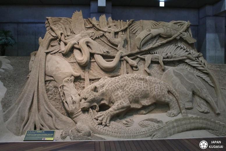 Le musée du sable de Tottori vaut le détour à lui seul, après une visite des dunes de Tottori. C'est une visite atypique et très originale pour un voyage au Japon avec des enfants. Japan kudasai, blog voyage Japon.