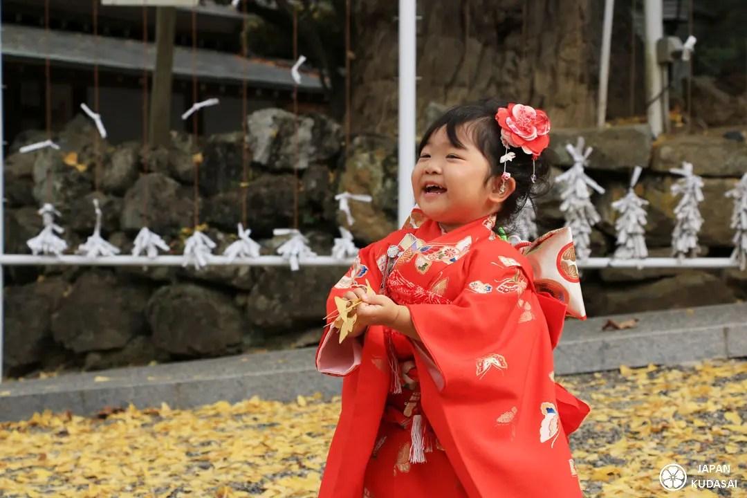 Shichigosan ou shichi go san dans un belle ambaince unique au Japon en novembre tous les ans.