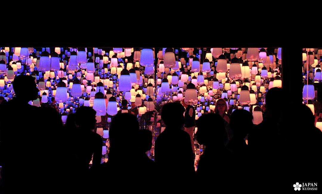 ombres chinoises au musée teamlab