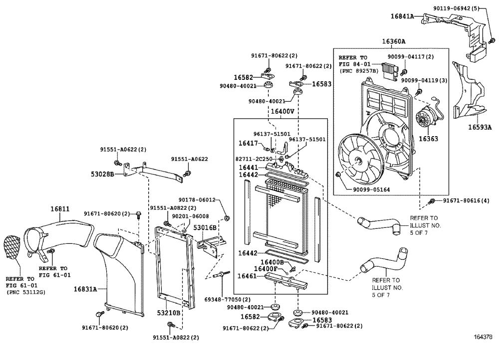 medium resolution of lfa radiator water outlet