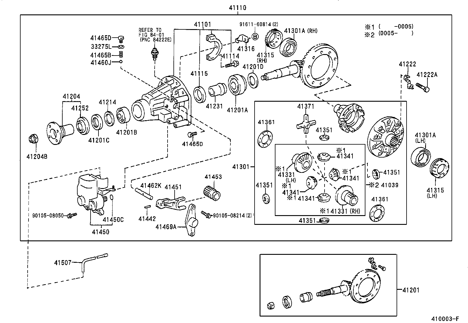 Service manual [1997 Toyota Land Cruiser Rear Differential