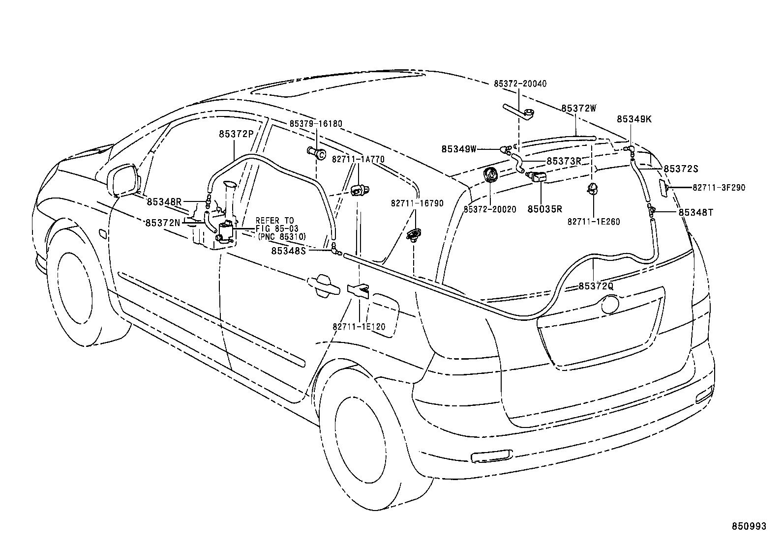 Toyota Corolla Versozze121l Fwmdkw