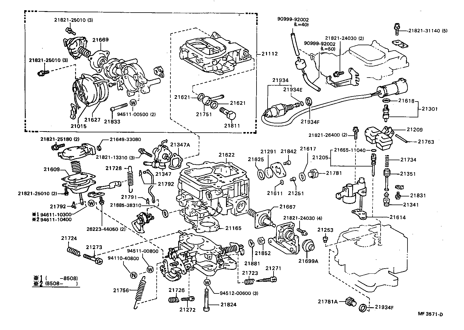 1985 Toyota Pickup Carburetor Diagram http://www.japan