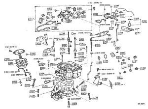 TOYOTA COASTERFB30LMDV  TOOLENGINEFUEL  CARBURETOR | Japan Parts EU