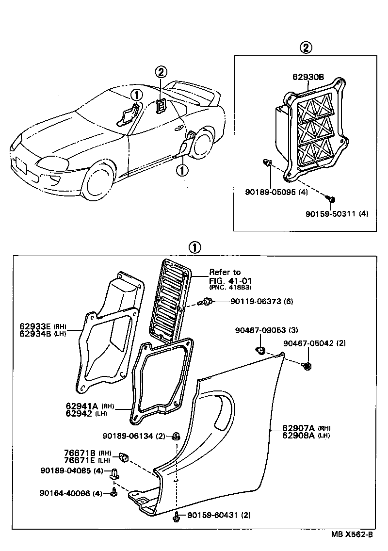 toyota 4runner 3 0 v6 engine diagram