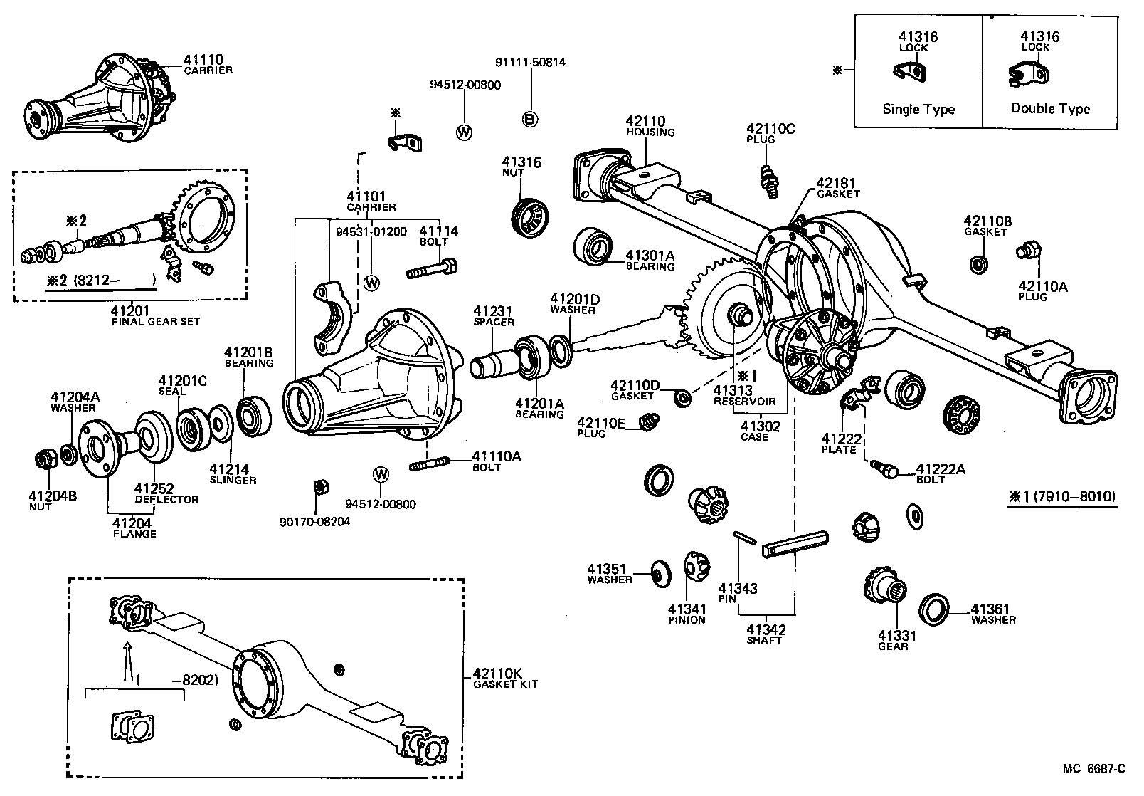Toyota Diagrams : Toyota Land Cruiser Transfer Case