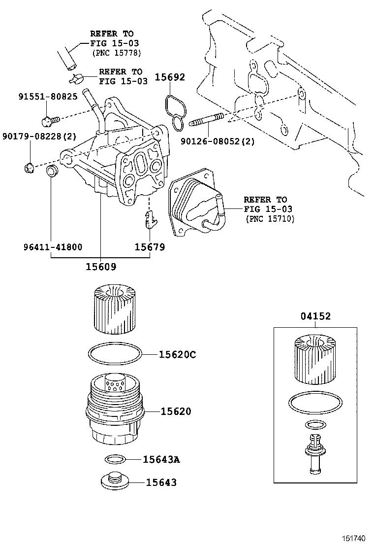 Toyota aurion engine oil filter
