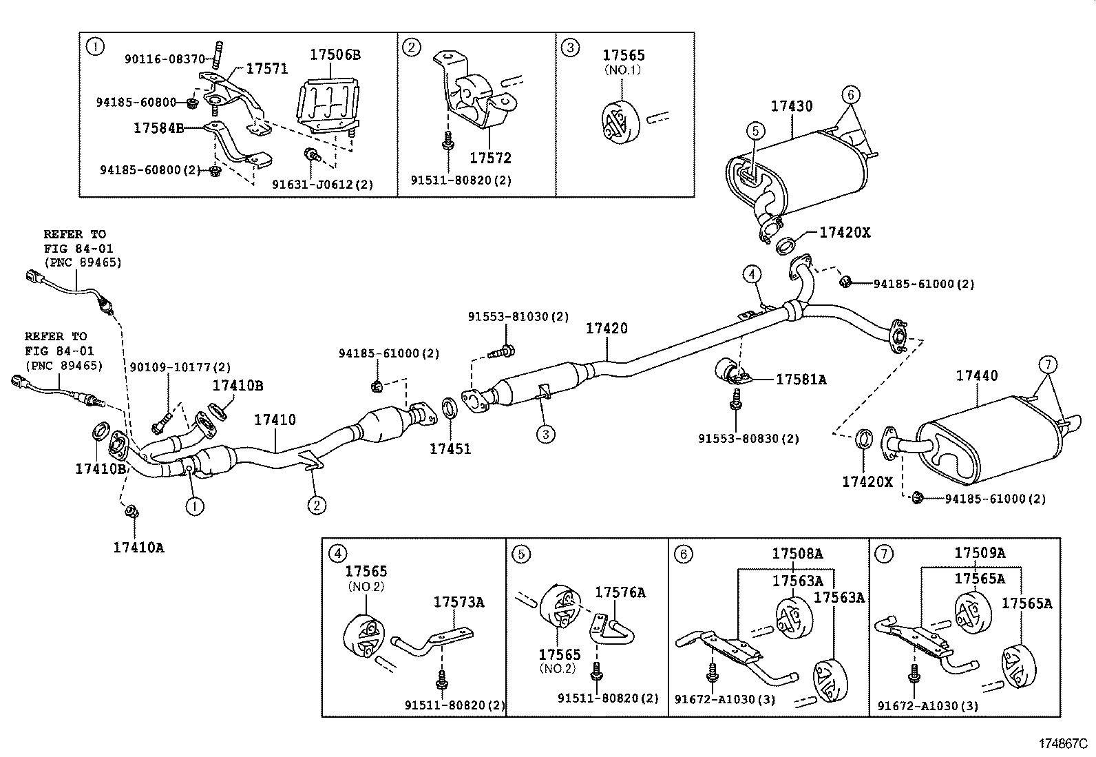 Toyota Camry Hybrid Parts Diagram
