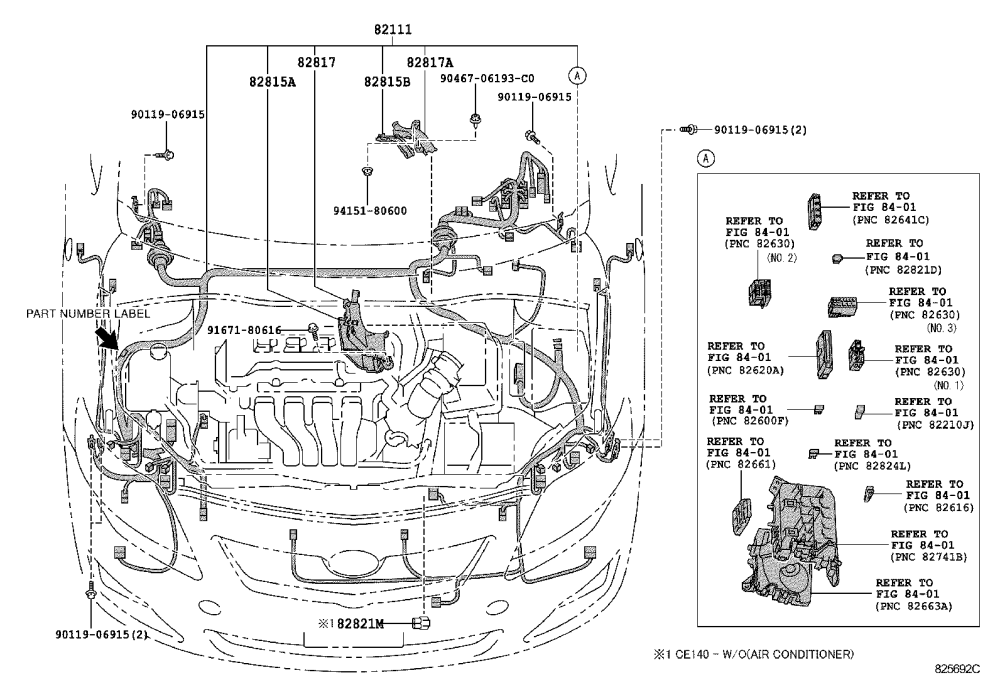 medium resolution of corolla wiring clamp