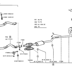 toyota corolla exhaust system diagram wiring diagram data val 2001 corolla exhaust diagram [ 1592 x 1099 Pixel ]