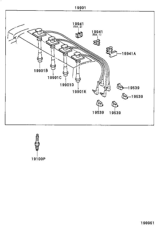 2004 toyota prius wiring diagram original