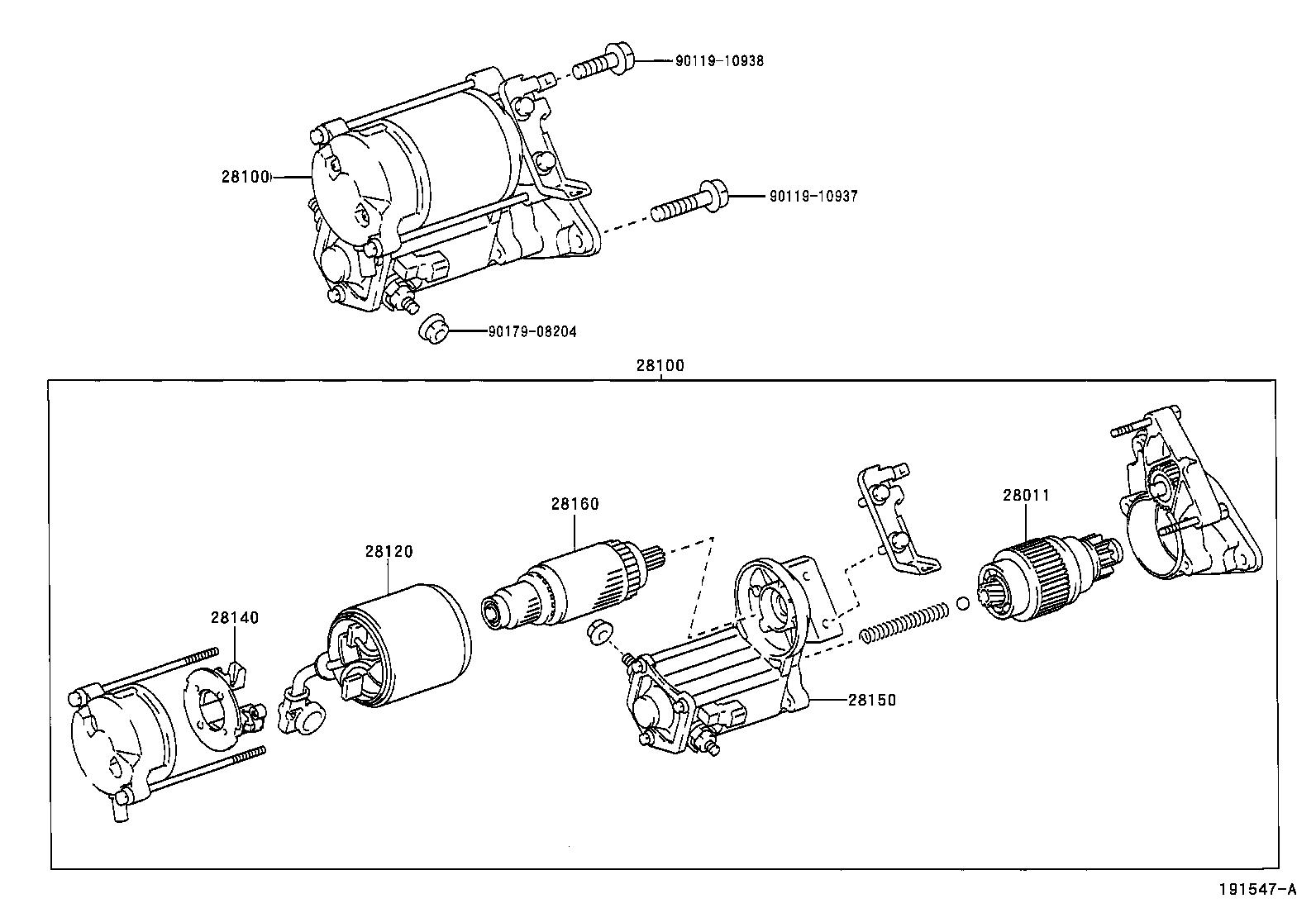 Denso Starter Diagram