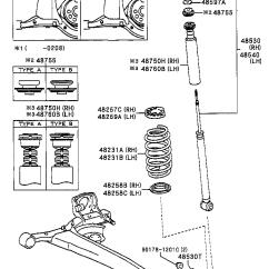 Toyota Rav4 Parts Diagram Australian House Electrical Wiring Yaris Echoncp12r-bemrkq - Powertrain-chassis Rear Spring Shock Absorber   Japan Eu