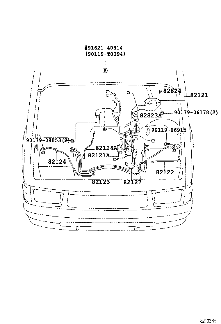 hight resolution of hilux wiring clamp
