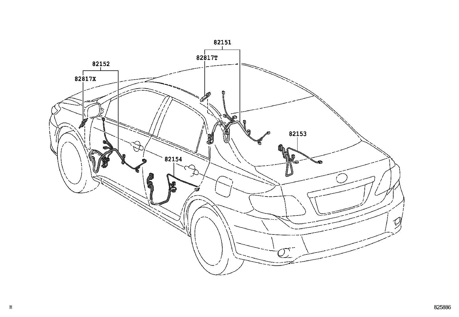 Toyota Corolla Altiszze141r Gepekt